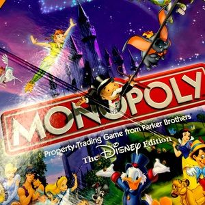 Disney is The best Monopoly game you'll ever play